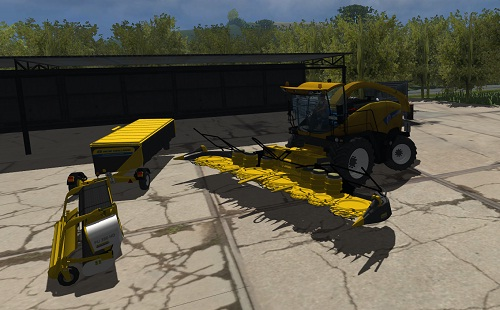 New Holland FR 9090 Pack