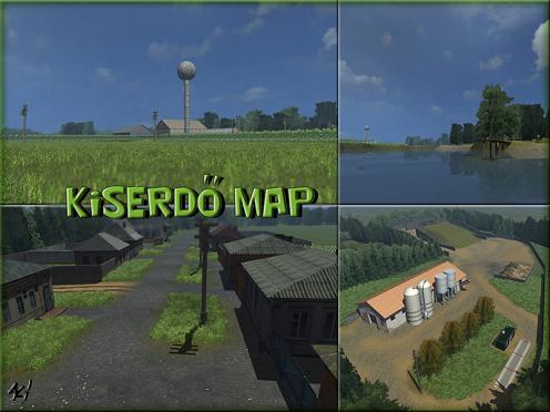 Kiserdö map