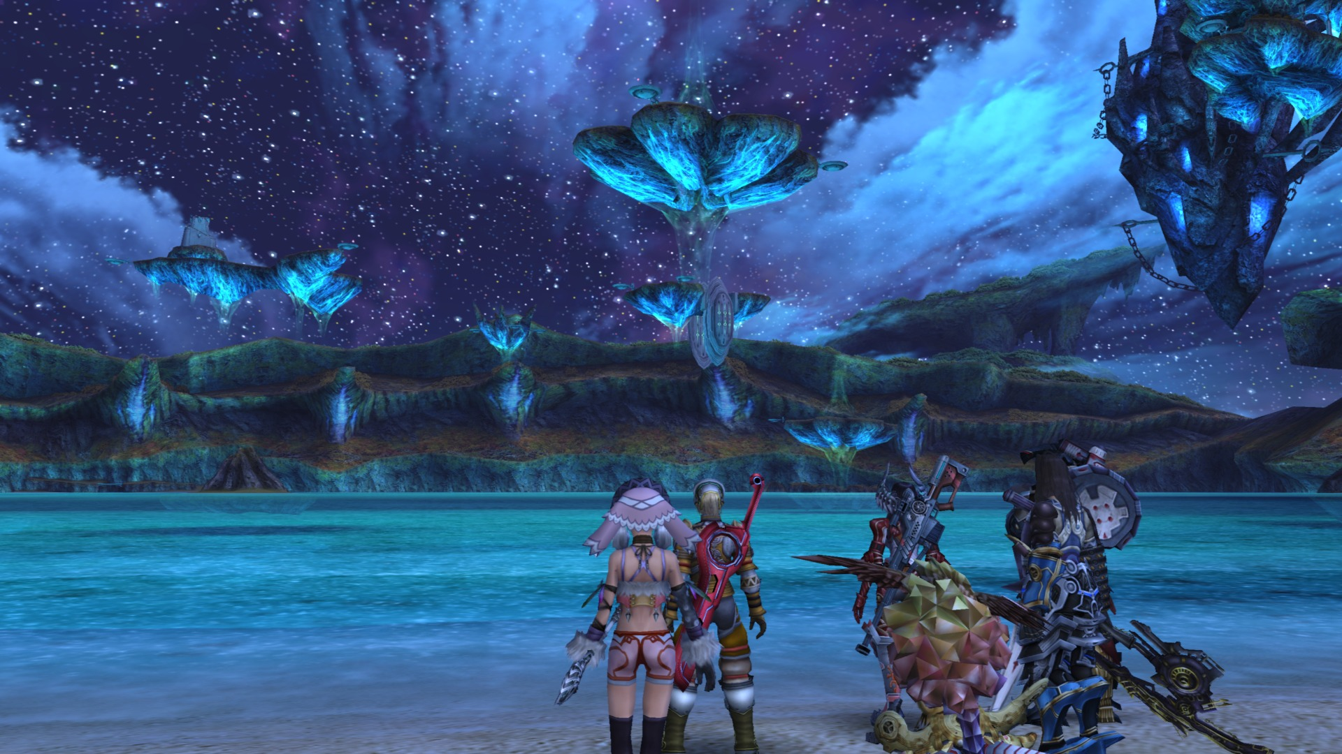 Xenoblade: What it would look like if it was released on the PC