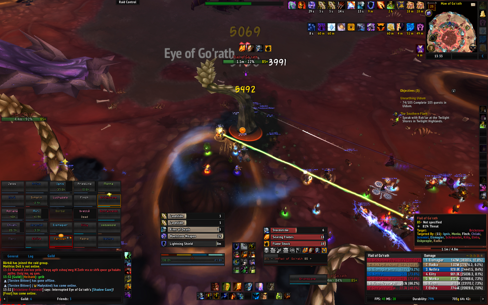 ElvUI problem, need some help! - World of Warcraft Forums
